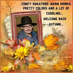 Johnny Depp Autumn