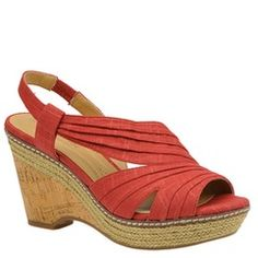 Naturalizer Women's Lulianna Wedge Sandal   http://www.shoemall.com