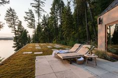Whitefish Poolhouse & Gallery by Cushing Terrell Modern Exterior, Exterior Design, Japanese Soaking Tubs, Mountain Decor, Whitefish, Workout Rooms, Pool Houses, Great Rooms, Rooftop