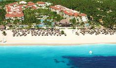 Now Larimar Punta Cana - beach aerial view