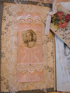 Vintage Flair Blog - Pretty Journal Page