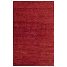 Red Fusion Wool Rug (8' x 10') | Overstock.com Shopping - Great Deals on St Croix Trading 7x9 - 10x14 Rugs