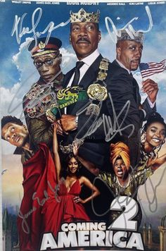 Eddie Murphy Coming to America 2 Trailer poster Iconic Movie Posters, Iconic Movies, Great Movies, New Movies, Tv Series To Watch, Film Watch, Movies To Watch, Newest Tv Shows, Favorite Tv Shows
