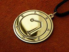 Talisman de l/'archange Raphael .925 Pendentif en argent sterling par Peter Stone