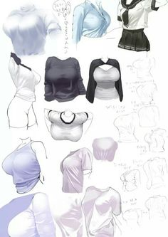 Abdomen and clothing reference Female