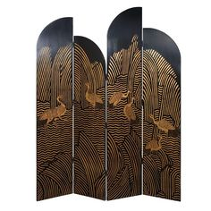 Chinese Art Deco screen.