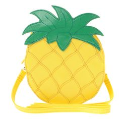 ASOS Pineapple Across Body Bag ($12) ❤ liked on Polyvore featuring bags, handbags, shoulder bags, accessories, purses, fillers, accessories wobags, womenswear, man bag and crossbody shoulder bags