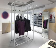 Jigsaw Argyll Street store by Dalziel and Pow, London – UK fashion
