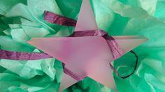 Sterne   ♪ ♫ ♪  Glücks-Stern II  In Pastellfarben von PAULSBECK Buchstaben, Dekoration & Geschenke auf www.paulsbeck.com