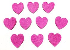 Yarn Place Felt Wool Felted Die Cut Hearts 10 Pieces Color: Pink Size: 60mm x 60mm Yarn Place http://www.amazon.com/dp/B00P46G9QO/ref=cm_sw_r_pi_dp_6Dwzub093DBSX