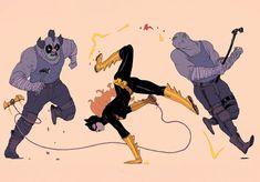 Bat dancing by f1x-2.deviantart.com on @DeviantArt