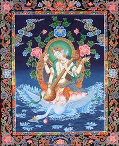 Saraswati - Goddess of Learning, Music, Poetry, Arts and Science