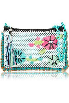 Crocheted shoulder bag #accessories #women #covetme #mmissoni #covetme #love #fashion #clothes #shoes #makeup