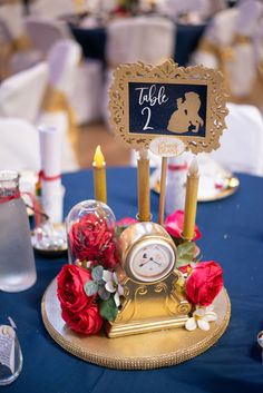Disney Wedding Centerpieces 25 in total - . Disney Wedding Centerpieces 25 in total - total of # Centerpieces. Beauty And The Beast Wedding Theme, Beauty And Beast Birthday, Disney Beauty And The Beast, Wedding Beauty, Disney Beast, Diy Beauty And The Beast Decorations, Quince Decorations, Quinceanera Decorations, Quinceanera Party