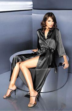19bbde5b67400b 54 meilleures images du tableau Les déshabillés   Dress robes, Silk ...