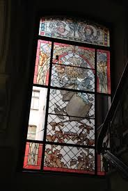 Image result for stained glass staircase