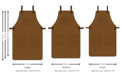 Leather Aprons // Catering Apron // Workshop Apron by deBruir