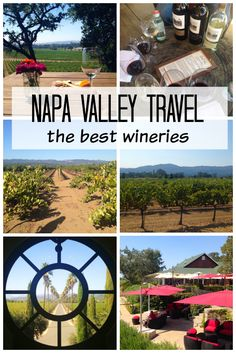 The Best Napa Valley Wineries - where to drink in Napa Valley! via @spoonfulflavor