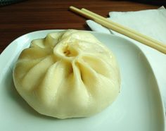 Giant dim sum! Chinese ginger pork Bau - yum!