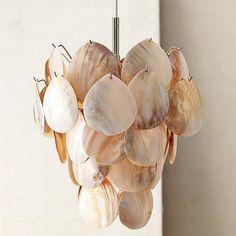 Capiz Shell Chandeliers
