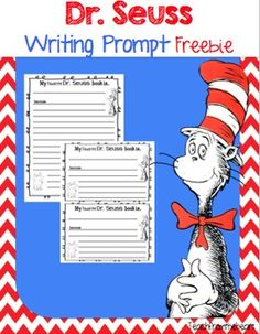 Free: Celebrate Dr. Seuss' birthday with these fun writing papers!Enjoy! :)