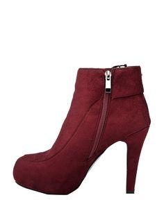 Stylish Solid Color Charm Thin High Heeled Boots