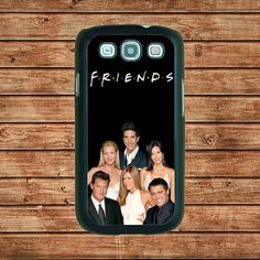 Samsung Galaxy S3 case--friends serial tv show,in plastic hard case,black or white or clear color by tomes8899, $14.99