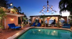 Little Arches Hotel pool with view to sea. This little boutique hotel also has an amazing roof top restaurant called Cafe Luna. Barbados Accommodation, Hotels In Barbados, Luxury Accommodation, Honeymoon Hotels, Beach Hotels, Spas, Resorts, Arch Hotel, Hotel Pool