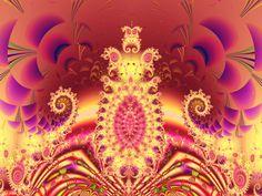 Fractal Art Wallpaper, Throne 2 Wallpaper