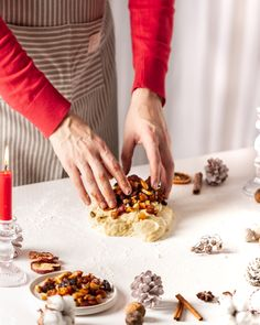 Traditional german Christmas fruit bread with nuts, spices and dried or candied fruits Lisa Bauer, Cooking Risotto, Fruit Bread, Candied Fruit, German Christmas, Finding Yourself, Spices, Traditional, Drinks