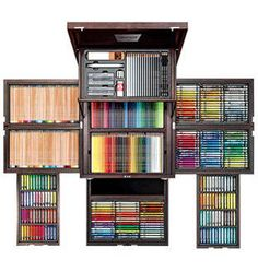 100 Year Anniversary Edition by Faber Castell Art Supplies Storage, Craft Supplies, Colores Faber Castell, Caran D'ache, Cute School Supplies, Drawing Tools, Room Organization, Art Studios, Colored Pencils