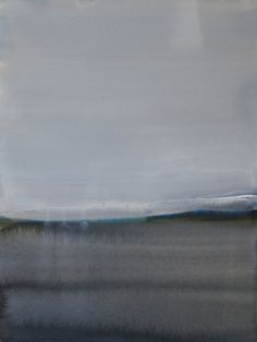 "Koen Lybaert; Watercolor 2013 Painting ""Umba"""