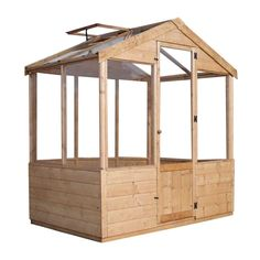 OFF Mercia Traditional Greenhouse - x ft Robert Dyas Features and Benefits Durable This sturdy and strong garden building is constructed from robust timber and Traditional Greenhouses, Shiplap Cladding, Lean To Greenhouse, Greenhouse Ideas, Apex Roof, Wooden Greenhouses, Garden Buildings, Outdoor Garden Furniture, Wooden Garden