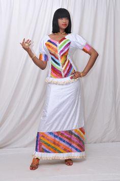 La top modéle Dalanda Diallo trés sublime dans une belle création de (mangane couture) !!!