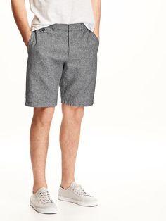 """Ultimate Slim-Fit Linen-Blend Shorts for Men (11"""")"""