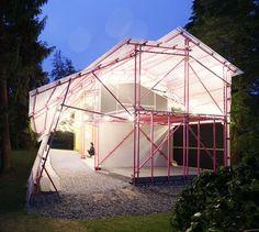 Louisiana Hamlet Pavilion  de SelgasCano será reutilizado como escola na favela de Kibera, Nairobi