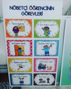 #nobetciogrenci panosu hazır  #egitim #eğitim #ilkokul #ilkogretim #firstgrade #school #sınıf #okul #clasroom #volkanegitim #sinifogretmeni…