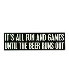 I wanna create this sign for my kitchen, but instead of saying Beer say Cookies. Hehe