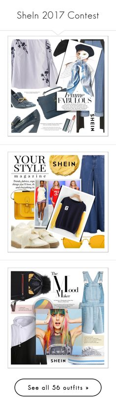 """""""SheIn 2017 Contest"""" by karenpoolak ❤ liked on Polyvore featuring Mulberry, Hellessy, Accessorize, Asprey, StyleNanda, Maybelline, Pussycat, Puma, MM6 Maison Margiela and Linda Farrow"""