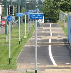 harlow dismounts Britains Worst Cycle Lanes: Photos of That Olympics Legacy In Action