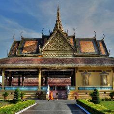 El palacio real de Camboya!! Una de las fotos con la que participamos en el concurso VIAJE A CEYLAN,