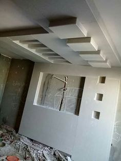 House Ceiling Design, Ceiling Design Living Room, Bedroom False Ceiling Design, Room Door Design, Tv Wall Design, Pop Design, Living Room Designs, Fall Ceiling Designs Bedroom, Plafond Staff