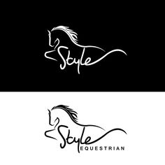 Style Equestrian - Design an Empowering Logo for Style Equestrian! equestrian ecommerce site providing unique quality/luxury products from apparel to lifestyle items. Online Web Design, Web Design Company, Design Design, Business Logo, Business Card Design, Logo Caballo, Horse Tattoo Design, Web Design Quotes, Horse Logo