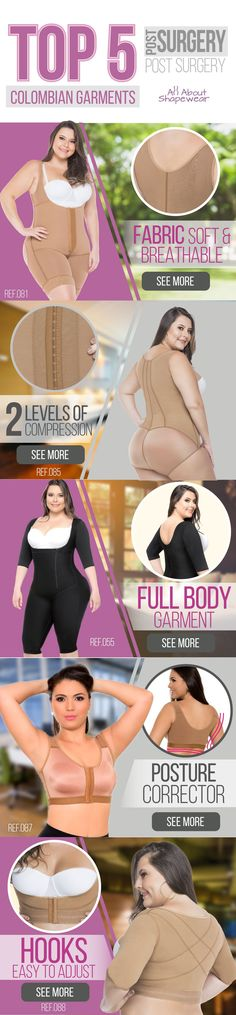 f99e9a8ac2 Do you already know our best Fajas to Recover  Enjoy the greater  compression and comfort provided by Colombian Fajas All About Shapewear.