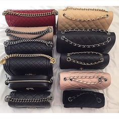 A Chanel handbag is anticipated to get trendy. So how could you get a Chanel handbag? Coco Chanel, Chanel Boy, Chanel Black, Chanel Handbags, Purses And Handbags, Beautiful Bags, Purse Wallet, Fashion Bags, Chanel Fashion