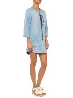 Vestido Atado - Animale - Azul - Shop2gether