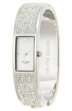 kate spade new york On the Rocks Carousel Bangle Watch, Jewelry & Accessories - Watches - All Watches - Bloomingdale's Bangle Bracelets, Bracelet Watch, Bangles, Rock Watch, Kate Spade Outlet, Jewelry Accessories, Fashion Accessories, Kate Spade Watch, Diamond Are A Girls Best Friend
