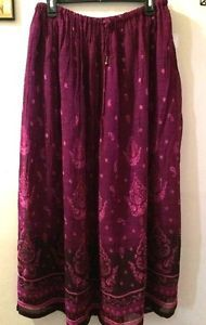 PAISLEY-PEASANT-SKIRT-BURGUNDY-AND-PINK-NORTON-STUDIOS-MEDIUM