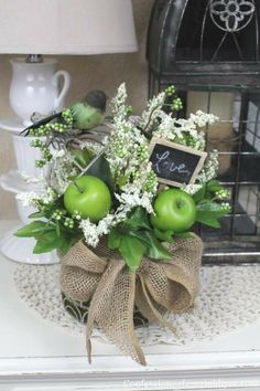 Sweet Birdcage Arrangement