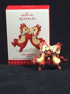 Chip n' Dale Limited Edition Hallmark Holiday Ornament
